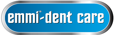 Emmi-dent-care-logo with R sign