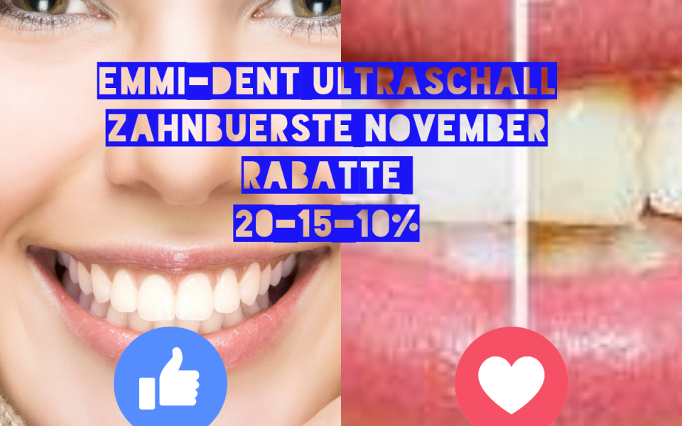 100ultrasonicDent November Angebot